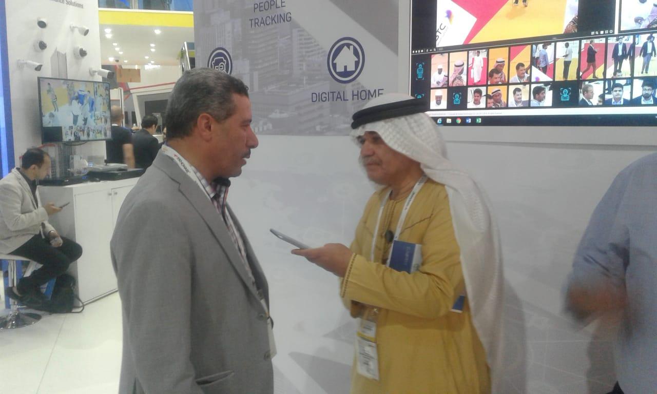 المركز الاعلامي لفعالية الانترسك ٢٠١٩ يلتقي مع فريق التنظيم المهندسين سليمان السروجي ومحسن علي