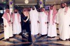 الأمير نايف بن فهد بن عبد المحسن بن جلوي آل سعود يدعم الجانب المعنوي والنفسي للمرضى المنومين