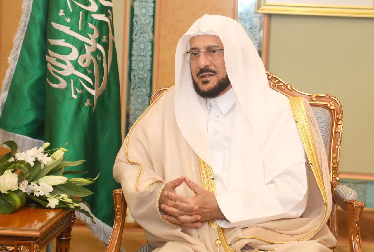 وزير الشؤون الإسلامية يوجه برسالة شكر لخطباء المساجد في مملكة التوحيد