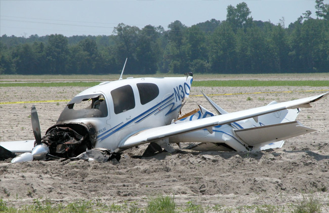 مصرع ثلاثة أشخاص جراء تحطم طائرة صغيرة في ألمانيا