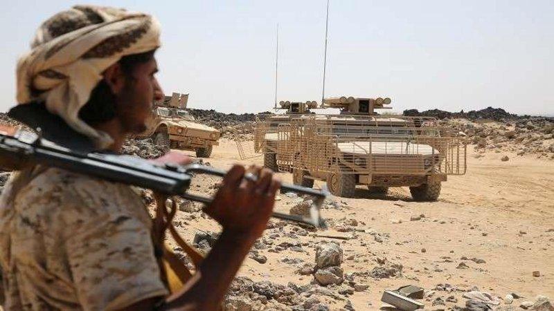 """الجيش اليمني يُسقط طائرة حوثية مسيّرة في """"باجة الضالع"""""""