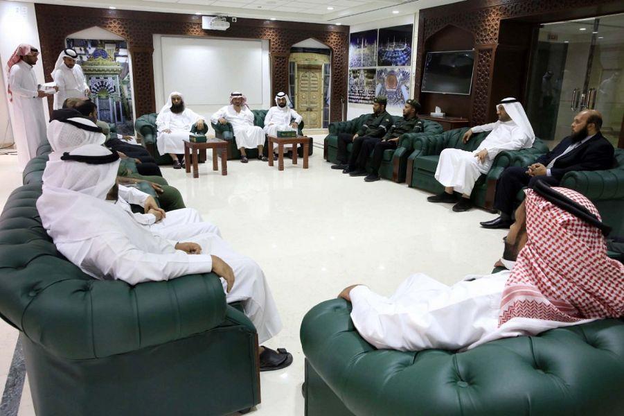"""وكالة شؤون المسجد النبوي تختتم برنامج """"الصحة والسلامة المهنية"""""""
