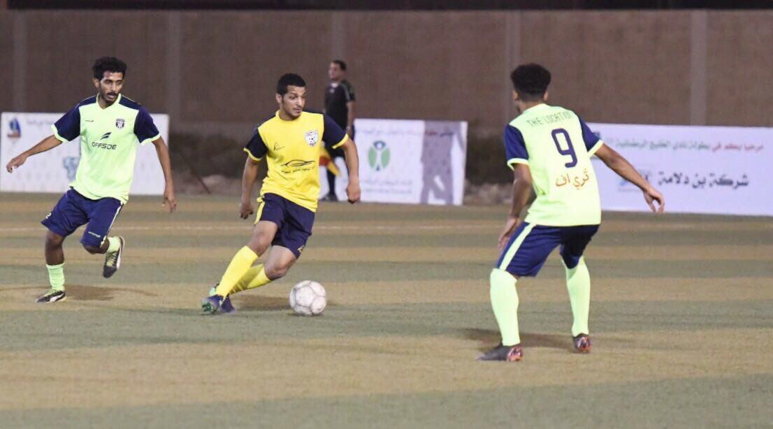 في ثاني ايام بطولة نادي الخليج الرمضانية ٤٠ الفلامنجو يطيح بـ التعاون.