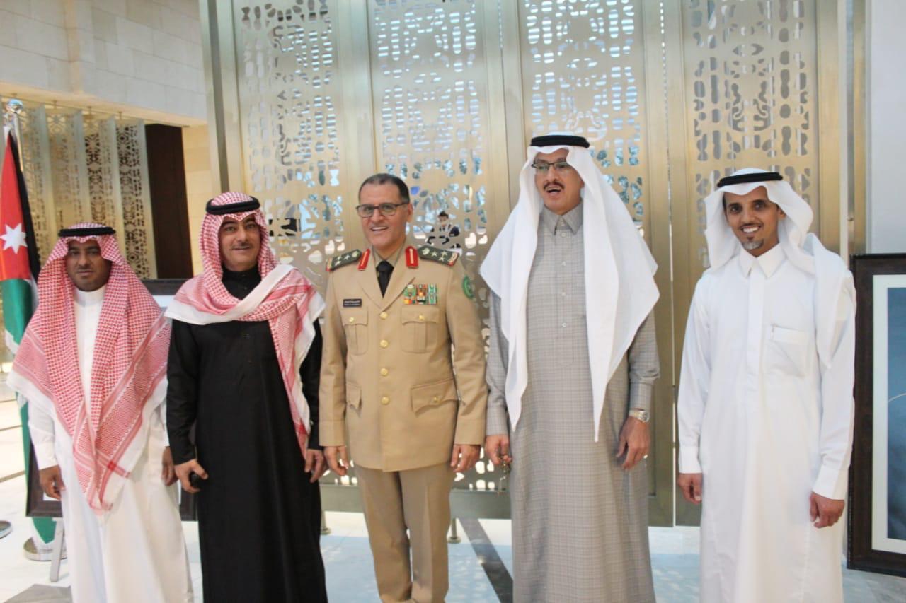 سفير المملكة لدى الأردن يقيم مأدبة إفطار بحضور كبار المسؤولين الأردنيين والسفراء