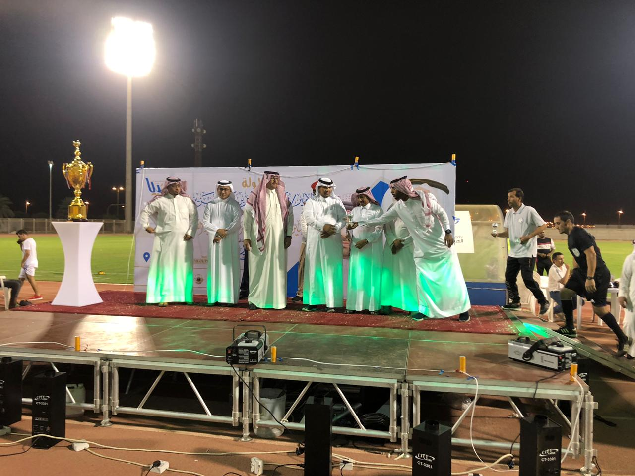 نابولي يتوج بطلا لبطولة الأمير محمد بن ناصر