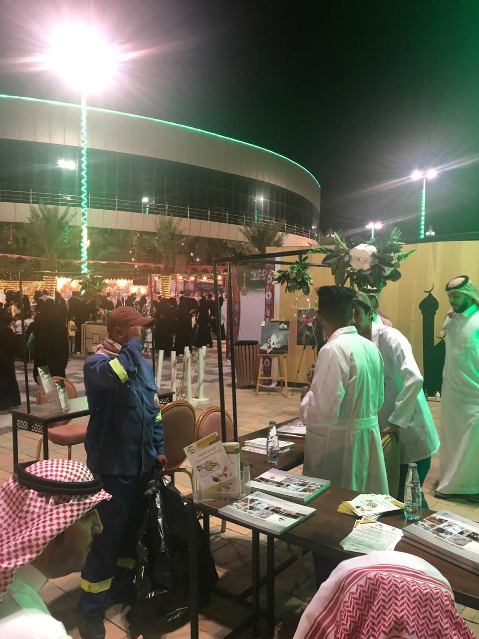 مشاركة فاعلة للجنة أصدقاء المرضى في مهرجان ليالي رمضان