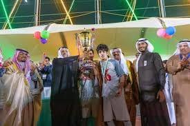 شباب الباحة (بطلاً) لدوري الحسام الرياضي لكرة القدم بالباحة