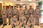 مدير الدفاع المدني بمنطقة تبوك يقلد عدداً من الضباط رتبهم