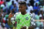 بعد سقوطه بمران فريقه.. استقرار حالة كالو لاعب نيجيريا