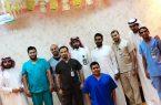 قسم التصوير الطبي بمستشفى صامطة العام يُكرم المتدربين