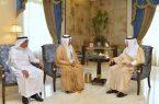 سمو أمير مكة_المكرمة يستقبل رئيس القطاع الغربي لشركة الكهرباء.
