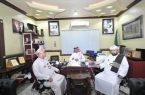 أكثر من ( 55 ) – حاجا من مكتب الخدمة الميدانية – ( 6 ) – يغادرون من مكة إلى المدينة المنورة