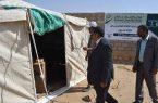 """إغاثي """" الملك سلمان """" يوزع المساعدات بمديرية الجوف اليمنية"""