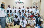 الرباعي يكرم كشافة تنمية الشقيري المشاركين في حج هذا العام١٤٤٠