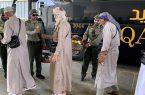 جوازات الوديعة تودع ضيوف الرحمن اليمنيين المستفيدين من برنامج ضيوف الملك للحج والعمرة