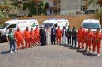 """مركز الملك سلمان للإغاثة يقدم 3 سيارات إسعاف """"لدعم خدمات الإسعاف في مناطق اللاجئين السوريين"""" في لبنان"""