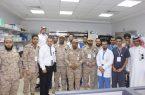 """مدير مستشفى القوات المسلحة بجازان يدشن معرض """"يوم الصيدلي السعودي"""""""