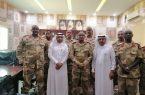 قادة لواء الحزم السوداني الرابع يزورون مستشفى الموسم العام