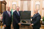 السفير السعودي يزور جامعة القاهرة