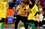 منتخبنا السعودي لكرة قدم الصالات النسائي يكسب الكويت في دورة رياضة المرأة