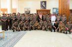 أمير  الباحة يستقبل مدير شرطة المنطقة وعدد من القيادات الأمنية