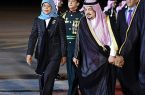 رئيسة جمهورية سنغافورة تصل الرياض