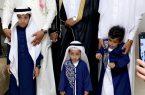 عبدالكريم عمشان يحتفل بزفافه على إبنة الأحمر