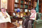 الأمير محمد بن ناصر يتسلم دعم شركة إسمنت الجنوب لمجلس التنمية السياحي بالمنطقة