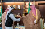 أمير منطقة الباحة يكرم  أبطال الإنقاذ في أمطار الحجرة