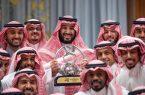 سمو ولي العهد يستقبل رئيس وأعضاء مجلس إدارة نادي الهلال