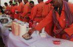فريق السمو بجمعية رواد يُنظّم مائدة طعام لـ ٥٧ عامل نظافة بمحافظة بيش