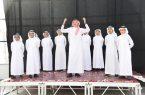 مدير تعليم مكة يدشن الصالة المدرسية بمدرسة البلد الأمين للموهوبين