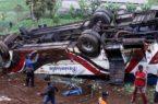 """""""سكاى نيوز""""مصرع 24 وإصابة 13 شخصا فى سقوط حافلة فى إندونيسيا"""