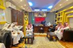 محافظ العارضة المكلف يستقبل مدير فرع هيئة حقوق الإنسان بجازان