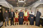 وزير النقل يُكرم عمالة ساعدت مواطن بالرياض