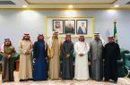 محافظ بني حسن يلتقي رئيس وأعضاء المجلس البلدي بالمحافظة