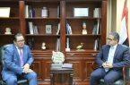 وزير السياحة والآثار المصري يلتقى سفير كازاخستان بالقاهرة