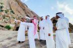 محافظة المخواة تطلق مبادرة الطريق إلى القمر  بجبل شدا الأسفل