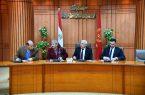 مُحافظ دمياط في مصر تناقش آليات تنفيذ منظومة التحول الرقمي