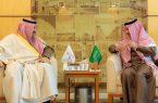 أمير منطقة الباحة يلتقي رئيس الهيئة العامة للسياحة والتراث الوطني