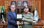 مدير عام الجوازات اللواء سليمان اليحيى يستقبل سفير جمهورية البرازيل الاتحادية لدى المملكة