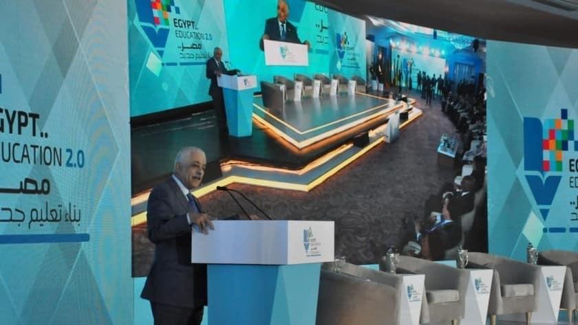 محافظ بورسعيد  بمصر يشارك بمؤتمر تعزيز التعليم  في الشرق الأوسط وأفريقيا