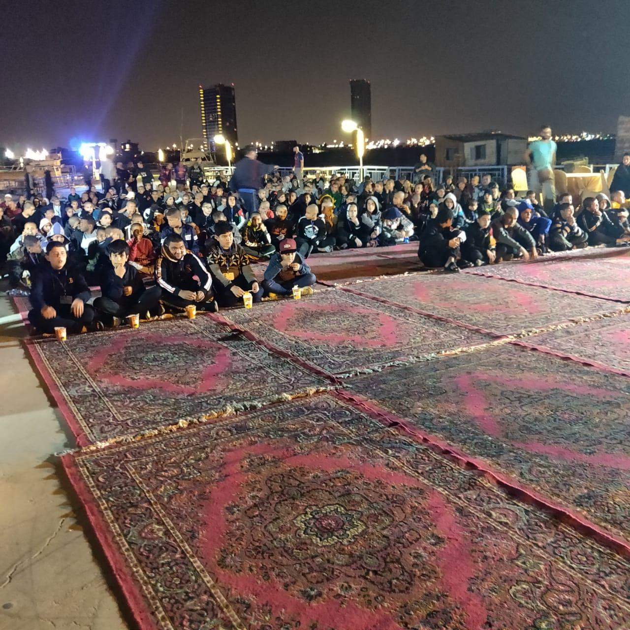 نادي متطوعي جدة يستضيف (400) يتيم لأداء العمرة من المخيمات الاردنية