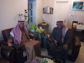 سفير المملكة لدى الأردن ولمسه وفاء مع المذيع غالب كامل