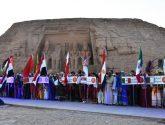 ختام مهرجان أسوان الدولي الثامن للثقافة والفنون بمصر