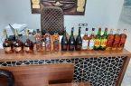 مكافحة التهرب الجمركي في أسوان بمصر تضبط عدد من زجاجات المشروبات الكحولية