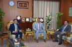 محافظ الدقهلية  بمصر يستقبل الرئيس التنفيذي للهيئة العامة للاستثمار والمناطق الحرة