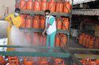 تدابير احترازية تعزز الوقاية بمحلات بيع الغاز في جازان