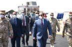 الرئيس السيسي يتفقده الأطقم التابعة للقوات المسلحة لمعاونة القطاع المدنى لمكافحة كورونا