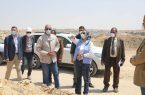 مصر ..وزيرة البيئة فى زيارة تفقدية لمدفن العبور